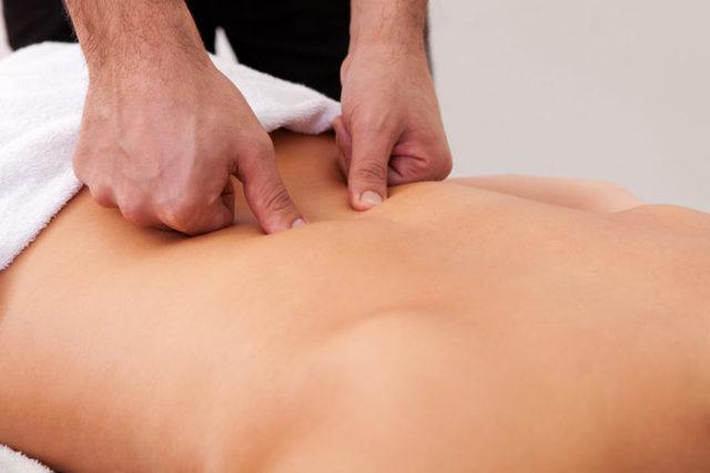 Насколько массаж и ЛФК помогают при грыже Шморля?