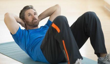 Упражнения для похудения живота при грыже позвоночника