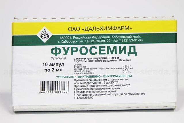 Ампулы и мочегонные таблетки Фуросемид: инструкция по применению, отзывы при похудении, цена