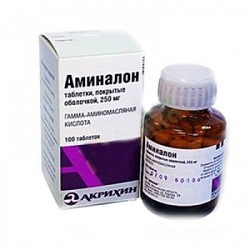 Аминалон: инструкция по применению, показания, цена, отзывы и аналоги