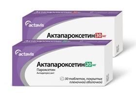 Актапароксетин: инструкция по применению, цена и отзывы